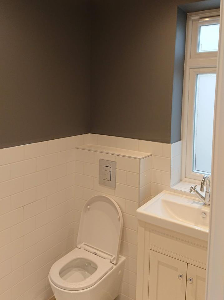 Bathroom Fifteen by Painters & Decorators online